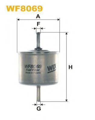 Фильтр топливный WIX WF8056
