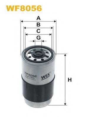 Фильтр топливный WIX WF8069