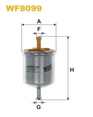 Фильтр топливный WIX WF8099