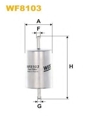 Фильтр топливный WIX WF8103