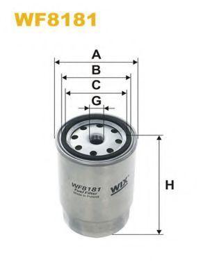 Фильтр топливный WIX WF8181
