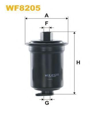 Фильтр топливный WIX WF8205