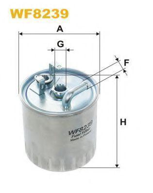 Фильтр топливный WIX WF8239