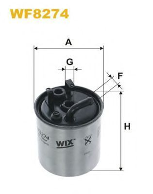 Фильтр топливный WIX WF8274