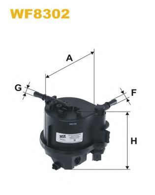 Фильтр топливный WIX WF8302