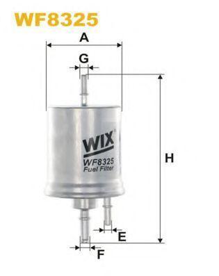 Фильтр топливный WIX WF8325