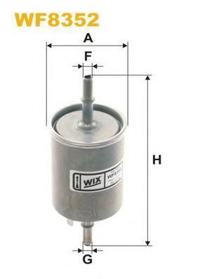 Фильтр топливный WIX WF8352