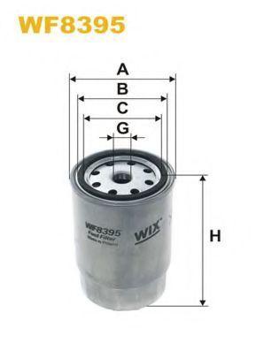 Фильтр топливный WIX WF8395