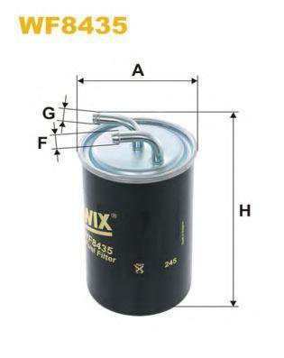 Фильтр топливный WIX WF8435