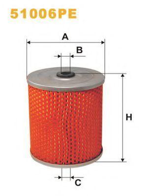 Фильтр гидравлический WIX 51006PE