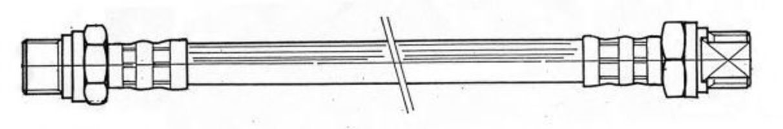 Тормозной шланг CEF 510908