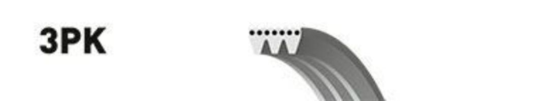 Ремень поликлиновый GATES 3PK675
