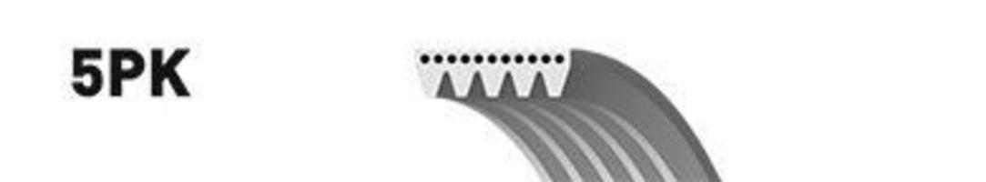 Ремень поликлиновый GATES 5PK970