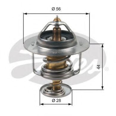 Термостат, охлаждающая жидкость GATES TH30282G1