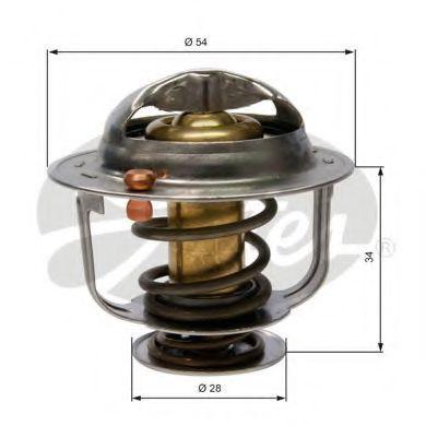 Термостат GATES TH31782G1