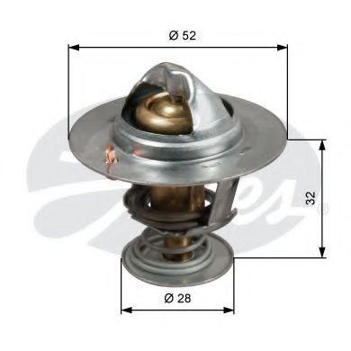 Термостат, охлаждающая жидкость GATES TH50292G1