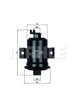 Фильтр топливный KNECHT KL140
