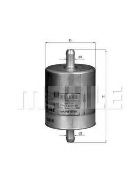 Фильтр топливный KNECHT KL 145
