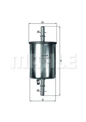 Фильтр топливный KNECHT KL470