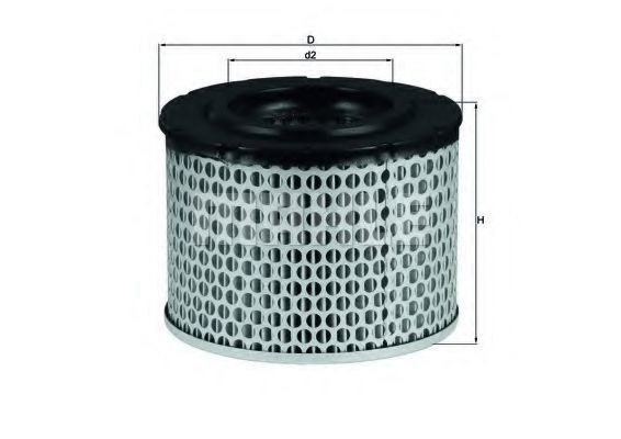 Фильтр воздушный KNECHT LX255
