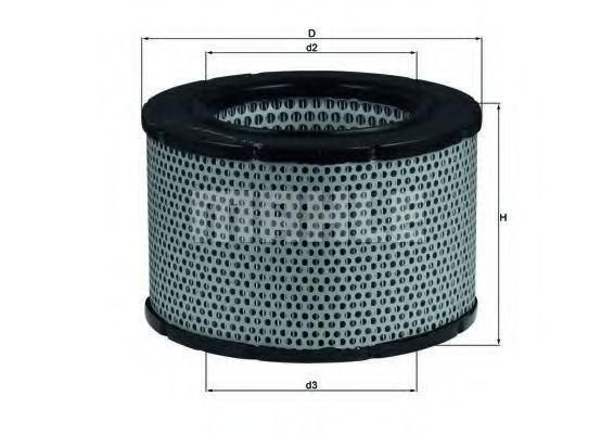 Воздушный фильтр KNECHT LX190
