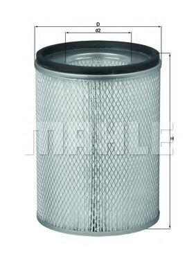 Воздушный фильтр KNECHT LX116