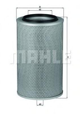 Фильтр воздушный KNECHT LX 227