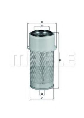 Воздушный фильтр KNECHT LX649