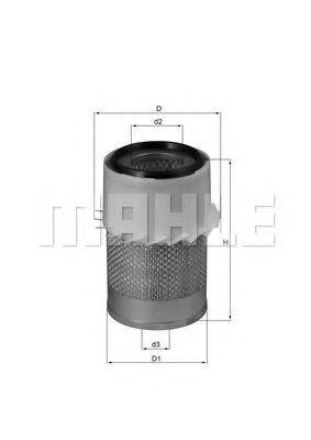 Воздушный фильтр KNECHT LX730