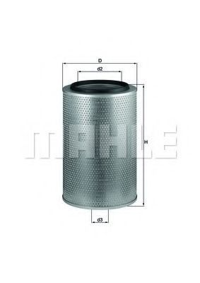 Воздушный фильтр KNECHT LX1606