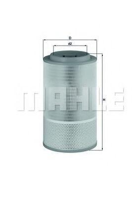 Фильтр воздушный KNECHT LX 1627
