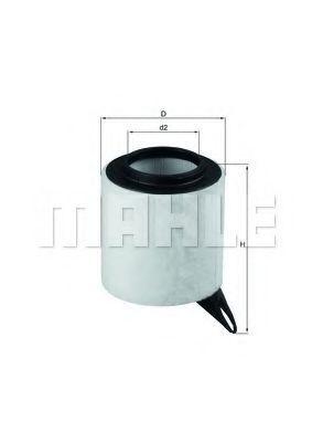 Фильтр воздушный KNECHT LX1651