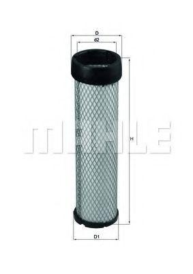 Фильтр добавочного воздуха KNECHT LXS256