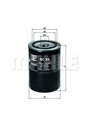 Масляный фильтр KNECHT OC54