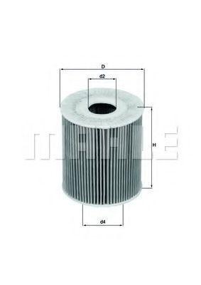 Купить Фильтр масляный KNECHT OX175D