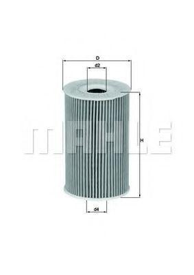 Фильтр масляный KNECHT OX351D  - купить со скидкой