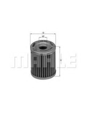 Купить Фильтр масляный KNECHT OX407