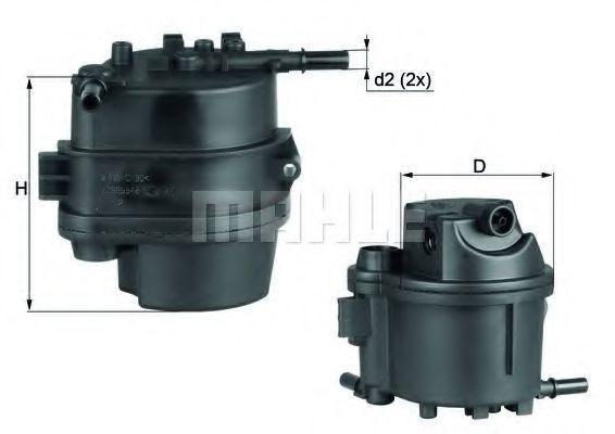 Фильтр топливный KNECHT KL777D