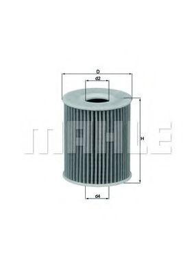 Купить Фильтр масляный KNECHT OX424D