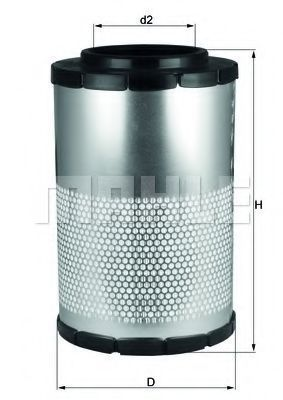 Купить Фильтр воздушный KNECHT LX1630