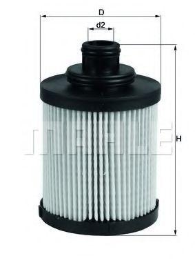 Купить Фильтр масляный KNECHT OX418D