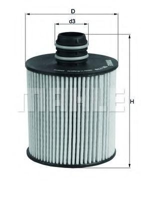 Фильтр масляный KNECHT OX779D