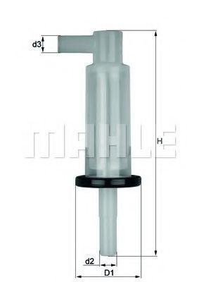 Фильтр топливный KNECHT KL33OF