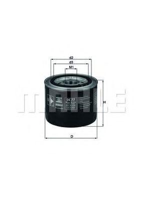Купить Фильтр масляный KNECHT OC77