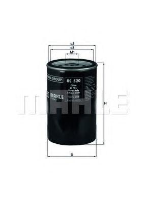 Купить Фильтр масляный KNECHT OC520