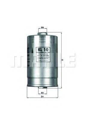 Фильтр топливный KNECHT KL 10