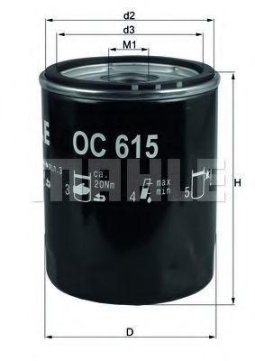 Купить Фильтр масляный KNECHT OC615