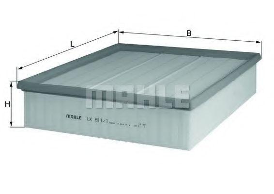 Фильтр воздушный KNECHT LX5111