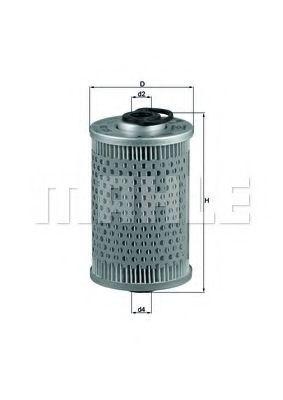 Топливный фильтр KNECHT KX35