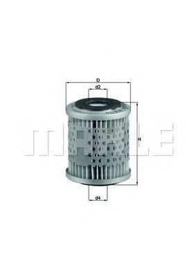 Фильтр топливный KNECHT KX76D